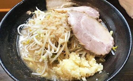 二郎系醤油ラーメン