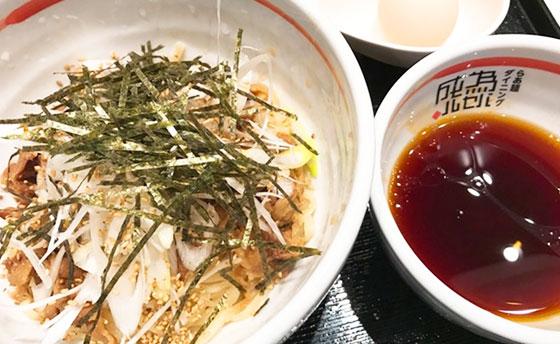牛肉そばつけ麺