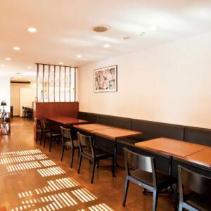カフェブランの店内 田和山