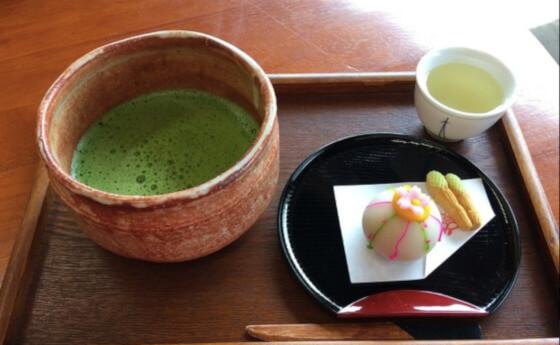 喫茶きはる 抹茶 和菓子セット