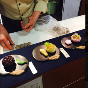 喫茶きはる 松江歴史館 和菓子 手作り