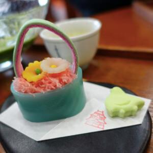 喫茶きはる 松江歴史館 和菓子