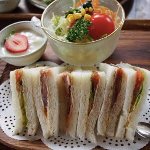 梢庵 サンドイッチ