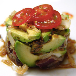ジャスミン 松江 マグロとアボカドのサラダ