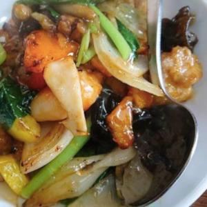 中華 虎楼 野菜炒め