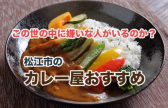 松江市の美味しいカレー屋ベスト8!