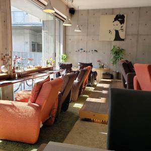 café&barfranc 店内