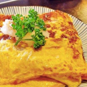 ふなつ 松江 そば 卵焼き