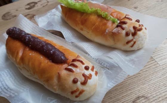 珈琲屋yori荘 ねこっぺ コッペパン