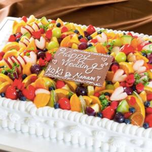 クロード ウエディングケーキ