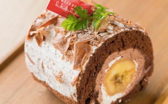 クロード バナナ ロールケーキ