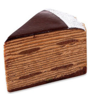 不二家 松江 チョコレートケーキ