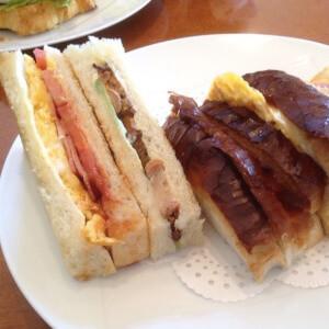 ウィーンの森 サンドイッチ