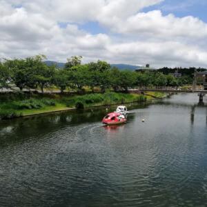松江北公園 ペダルボート