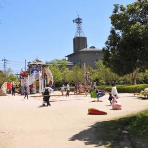 松江 北公園 遊具