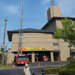 北公園 消防署 消防車