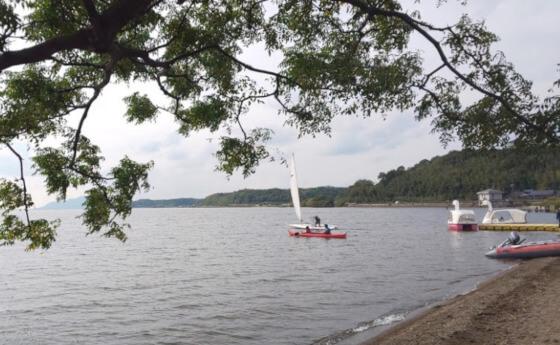 秋鹿なぎさ公園 ボート ヨット