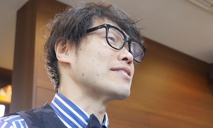 ターゲット層について語ってくれた店長田中さん