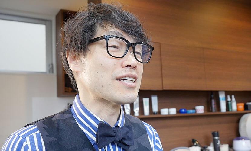 経営理念を語る田中氏