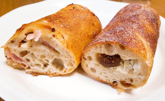 carre パン 松江 ベーコンとマスタード フランスパン