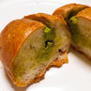 タロ 松江 パン 抹茶 小豆