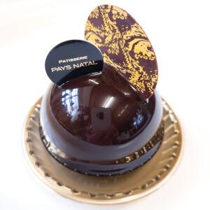 ペイナタル チョコムース ケーキ 栗 カシスのクリーム