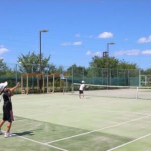 森林公園 テニスコート