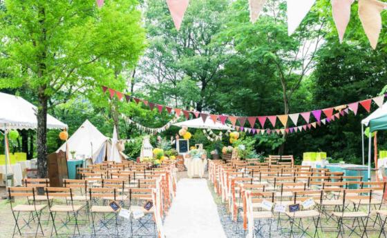 森林公園 結婚式