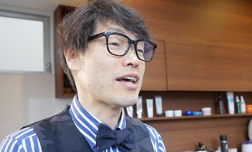 マーケティングの重要性を語る田中氏
