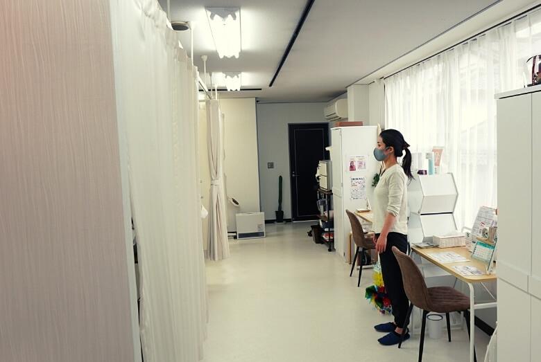 サロン叶の施術部屋