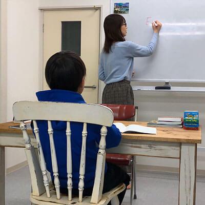 LINO English Plusの授業の様子