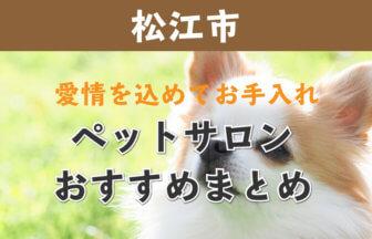 松江市のトリミング・ペットサロンおすすめまとめ