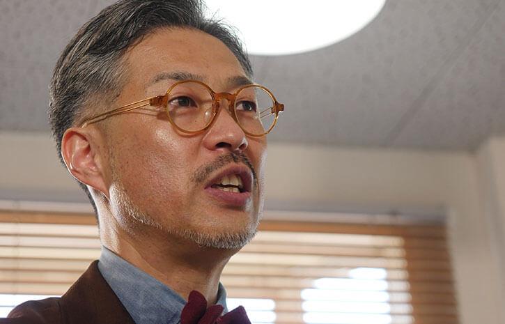 スーツに出会ったきっかけを語る和田さん