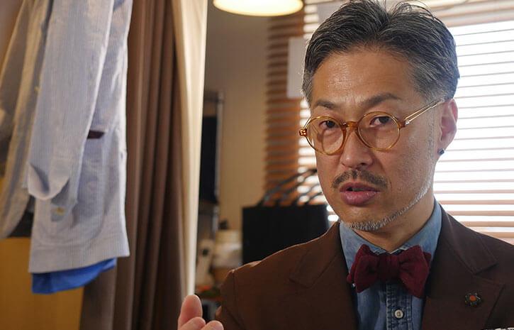 スーツへの想いを熱弁する和田さん