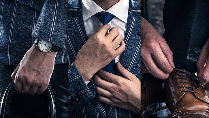 スーツはビジネスマンの戦闘服