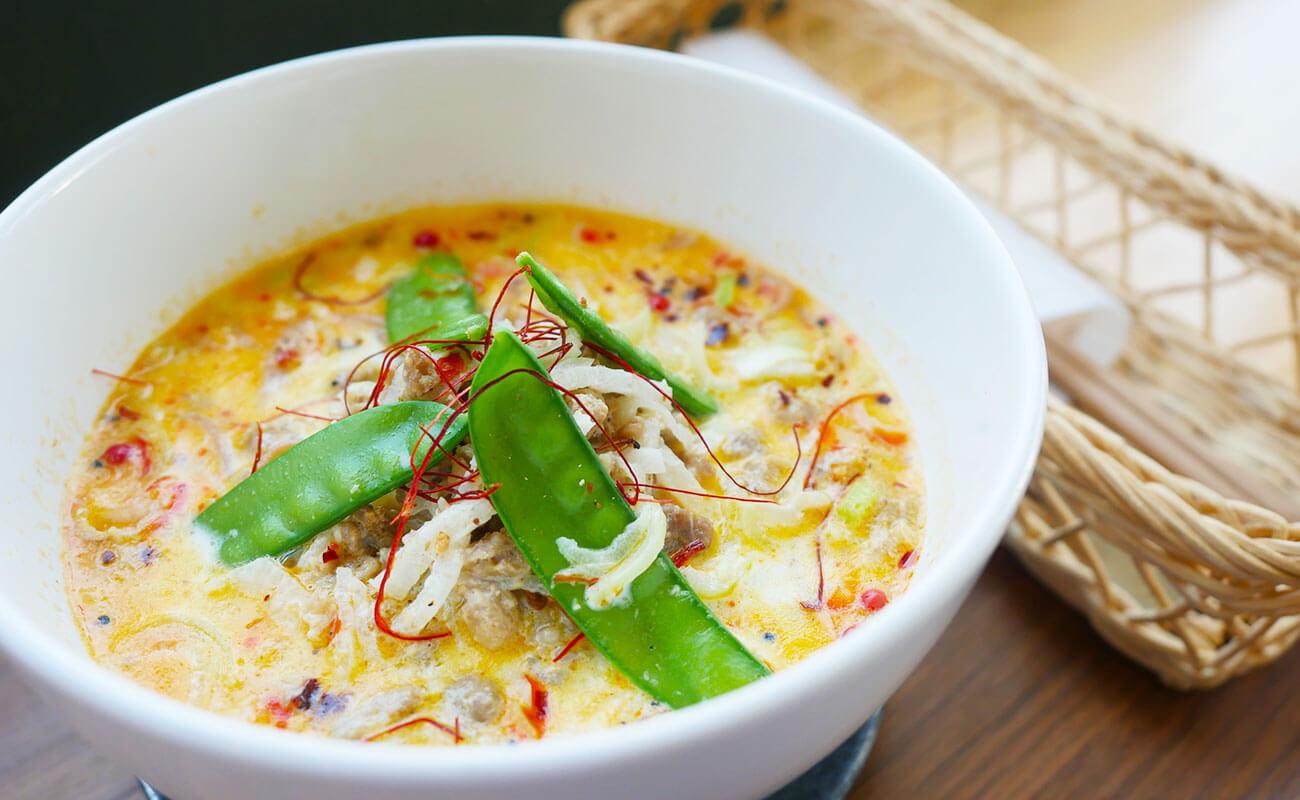 おすすめの玄米・白米麺の坦々麺