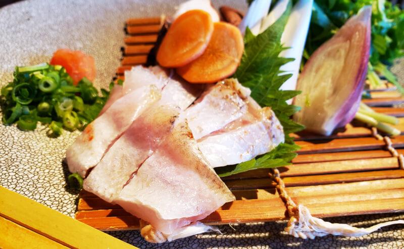 松江市にあるこ根っこやののどぐろしゃぶしゃぶ