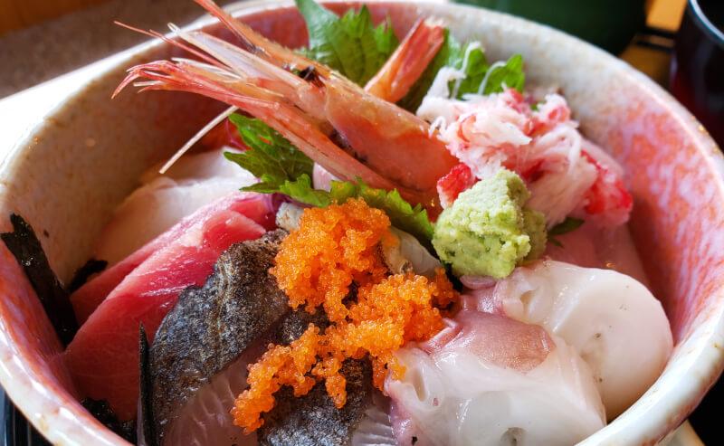 京らぎの海鮮丼