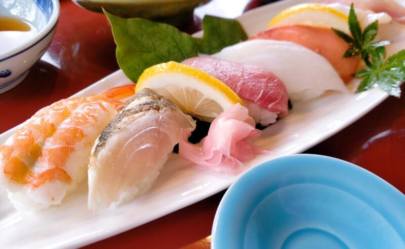 京らぎのお任せ握り寿司