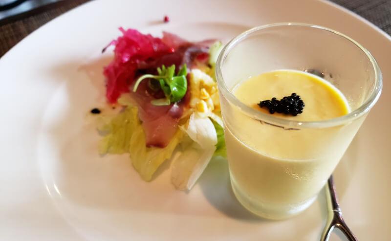 松江市にあるメリメロのメリメロランチ前菜