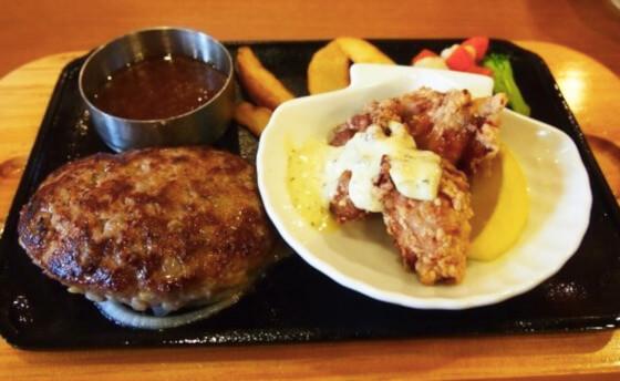 松江市にあるビッグボーイの手ごねハンバーグ