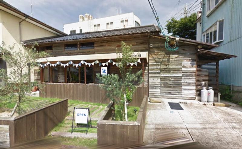 松江市上乃木にあるケーキ屋さんのBOKUDAMI外観