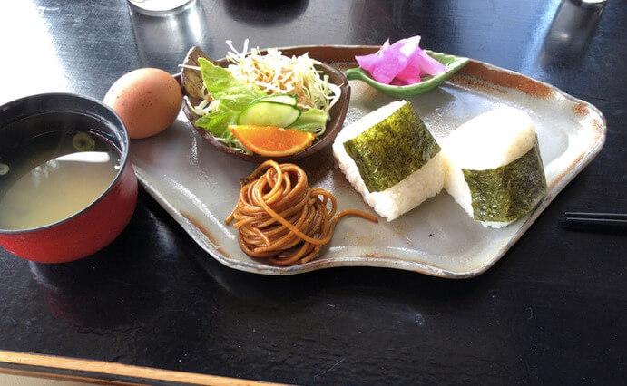 松江市東出雲町にあるオリーブカフェのモーニング