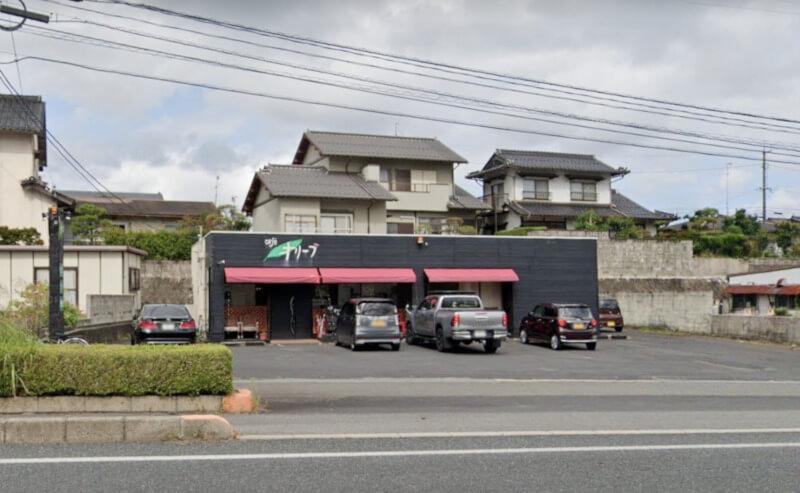 松江市東出雲町にあるオリーブカフェの外観