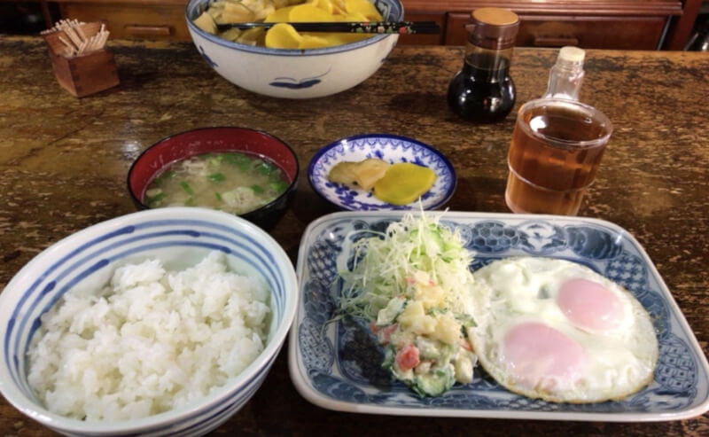 松江市にある喫茶店のセイユウのメニュー