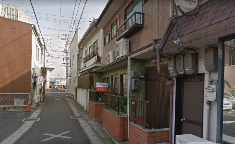 松江市にある喫茶店のセイユウの外観