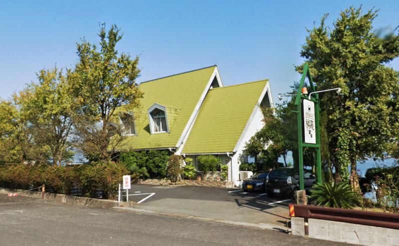 松江市玉湯町にある梢庵の外観
