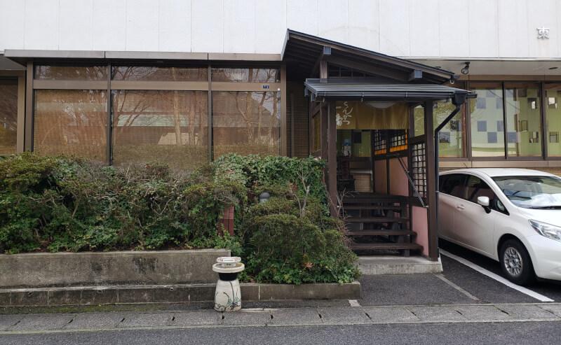 松江市にあるとんかつ1番の外観