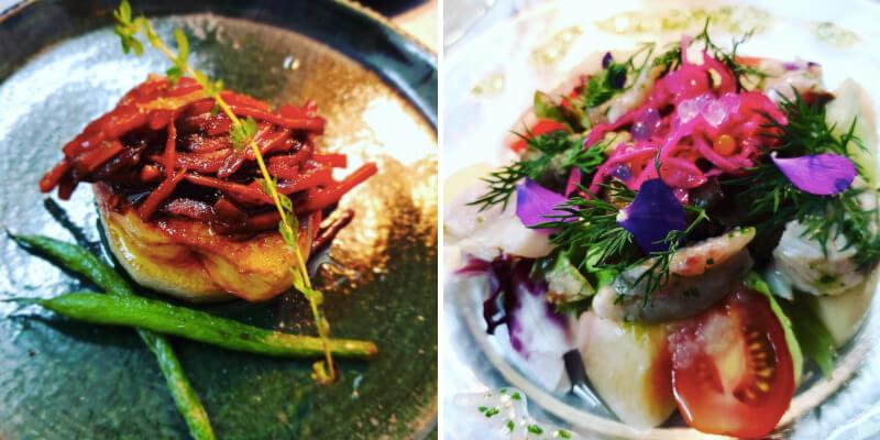 松江市にあるフレンチレストランのビストロクールのコース料理