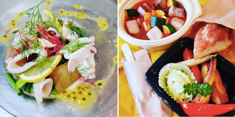 松江市末次本町にあるビストロクールのコース料理